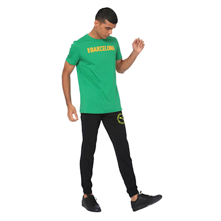 Mens Graphic Tee IX, Amazon Green, small-IND