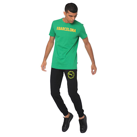 Mens Zipp Graphic Pants cl, Puma Black, small-IND