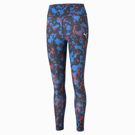 Leggings estampadas Modern Sports 7/8 para mujer, Nebulas Blue, pequeño