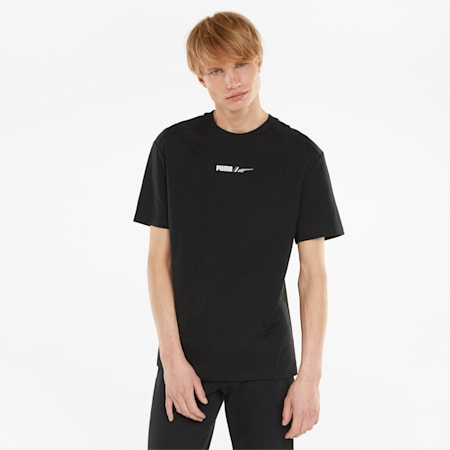 RAD/CAL Relaxed Fit Men's T-Shirt, Puma Black, small-IND