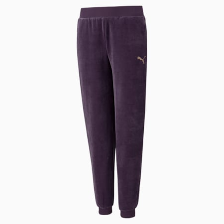 Pantalones de velour Alpha, Sweet Grape, pequeño
