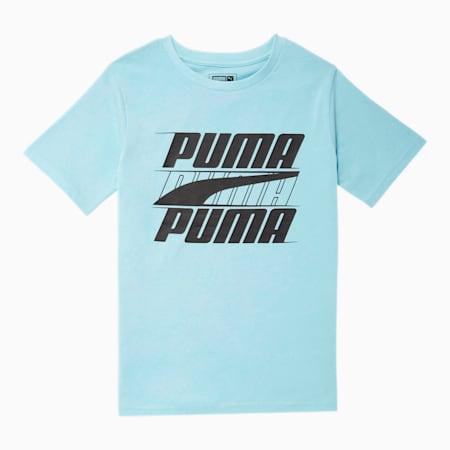 Camiseta estampada Speed para niño JR, OPCIÓN DE COLOR AGUAMARINA 2, pequeño