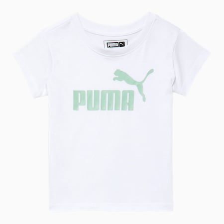 No.1 Logo Infant Graphic Tee, PUMA WHITE, small