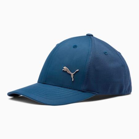 PUMA Treasury Performance FLEXFIT Cap, Dark Blue, small