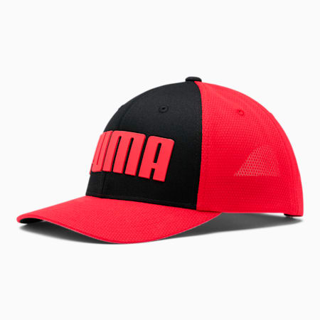 PUMA Duo Cubic Snapback, Red/Black, small