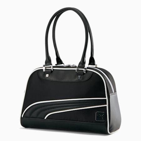PUMA Women's Grip Bag, BLACK / WHITE, small