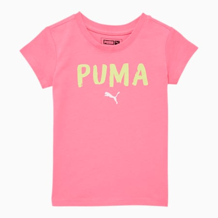 Alpha Toddler Graphic Tee, BUBBLE GUM, small