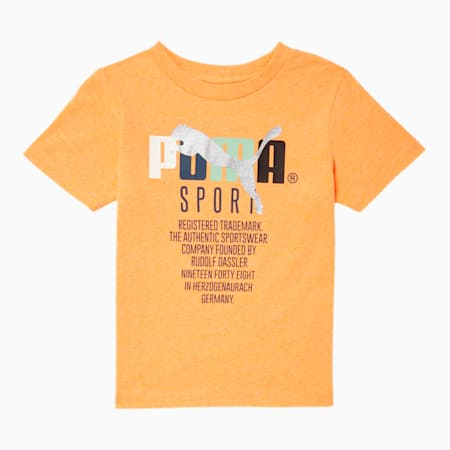 Tailored for Sport Toddler Graphic Tee, FIZZY ORANGE, small