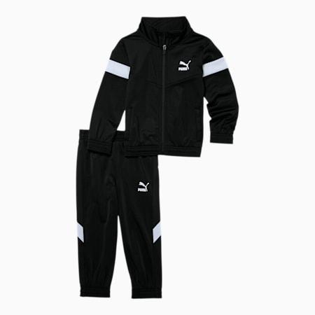 Iconic MCS Infant + Toddler Tracksuit Set, PUMA BLACK/WHITE, small