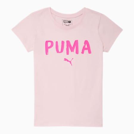 Camiseta estampada Alpha para niñas JR, CHERRY BLOSSOM, pequeño