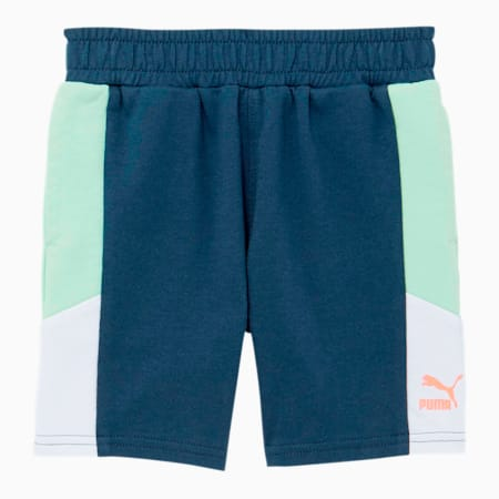 Tailored for Sport Toddler French Terry Shorts, DARK DENIM, small