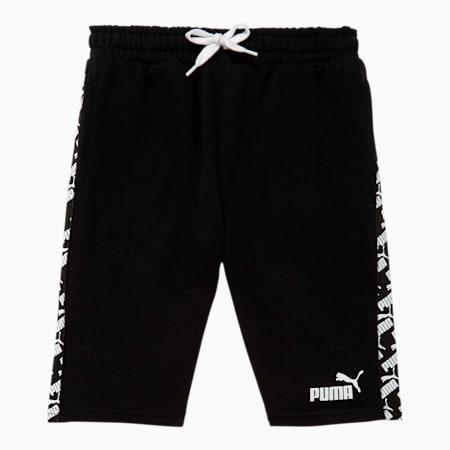 Amplified Boys' French Terry Shorts JR, PUMA BLACK, small