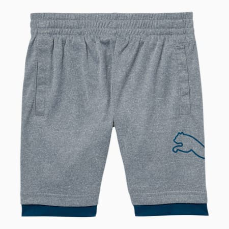 Shorts Tailored for Sport Performance para bebés, LT HEATHER GREY, pequeño