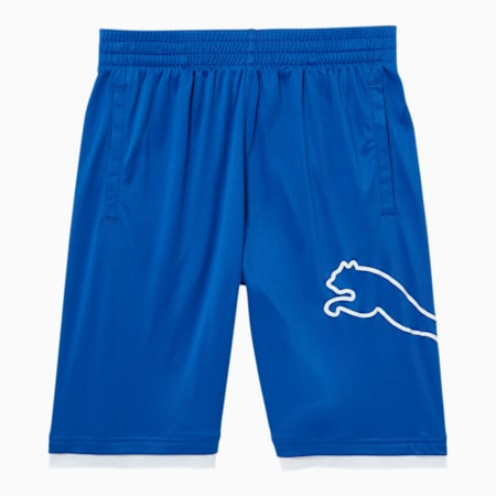 Tailored for Sport Boys' Performance Shorts JR, DAZZLING BLUE, small