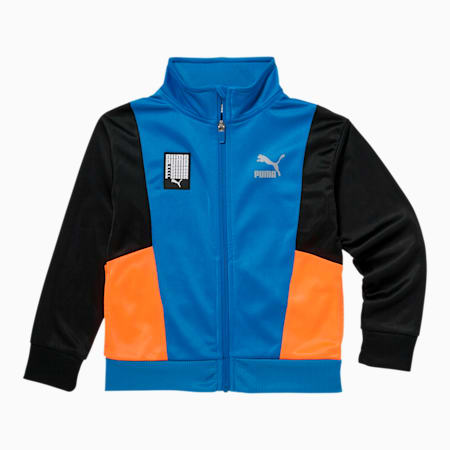 Tailored for Sport Little Kids' Tricot Track Jacket, PALACE BLUE, small