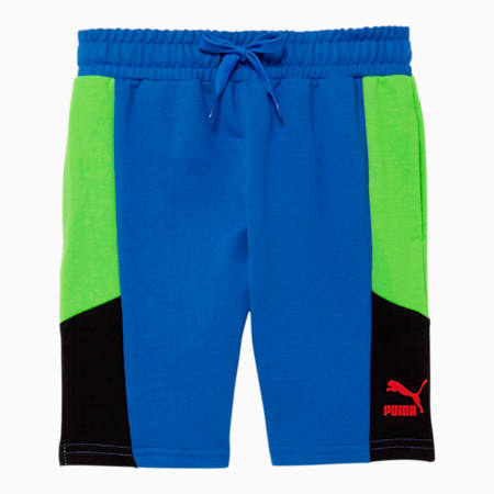 Tailored for Sport Little Kids' French Terry Shorts, DAZZLING BLUE, small