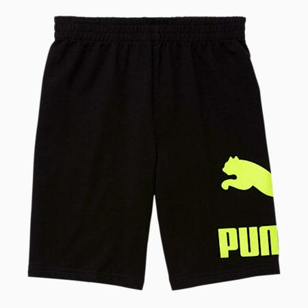 Shorts de felpa Classics para niños, PUMA BLACK, pequeño