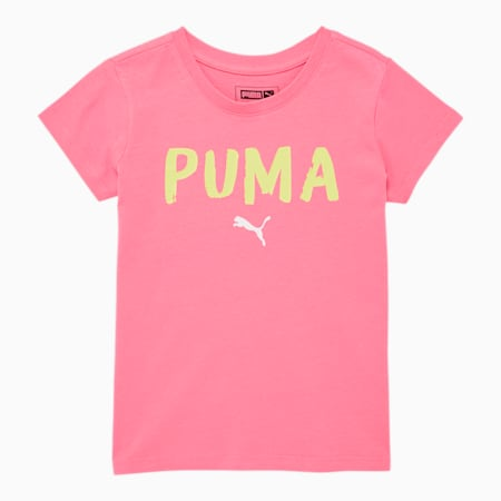 Alpha Little Kids' Graphic Tee, BUBBLE GUM, small