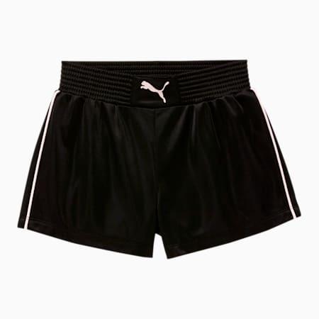 Alpha Little Kids' Tricot Fashion Shorts, PUMA BLACK, small