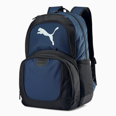 PUMA Contender Ball Backpack, Navy, small