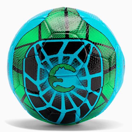 ProCat Geomax Soccer Ball, CYANNE BLU, small