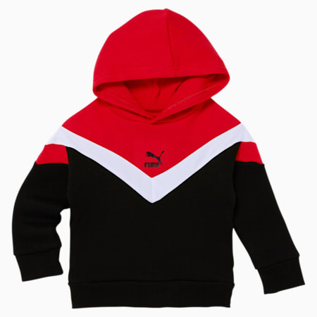 MCS Toddler Fleece Hoodie, PUMA BLACK, small