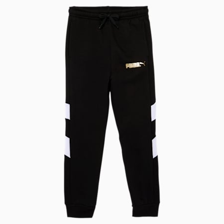 Tailored for Sport WH Little Kids' Joggers, PUMA BLACK, small