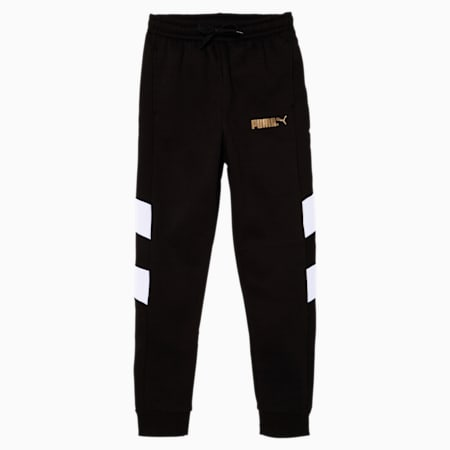 Tailored for Sport WH Boys' Joggers JR, PUMA BLACK, small