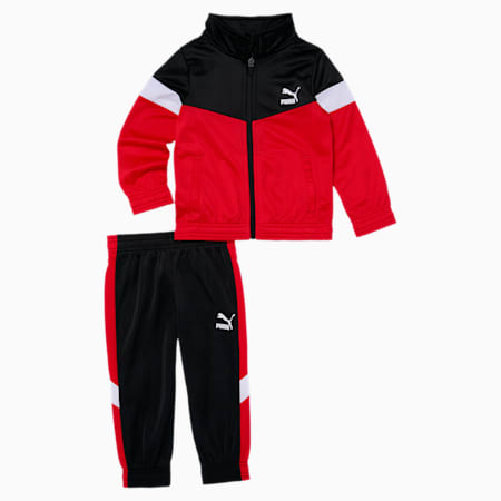 MCS Toddler Tracksuit Set, HIGH RISK RED, small