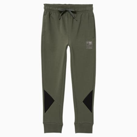 Rebel Little Kids' Colorblocked Joggers, THYME, small