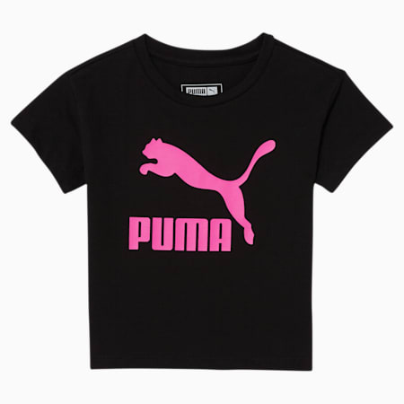 Classics Toddler Graphic Tee, PUMA BLACK, small
