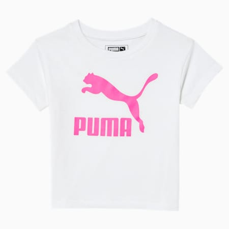 Classics Toddler Graphic Tee, PUMA WHITE, small