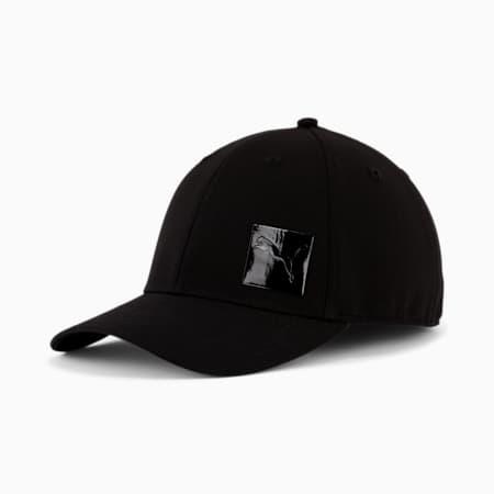 PUMA Decimal 2.0 Stretch Fit Cap, Black, small