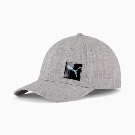 Gorra de malla elásticaPUMA Decimal2.0, Medium Gray, pequeño