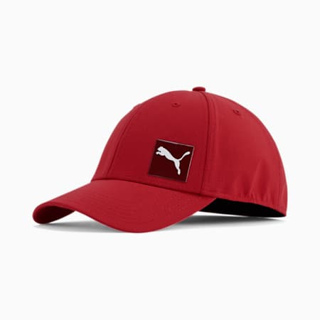 PUMA Decimal 2.0 Stretch Fit Cap, Dark Red, small