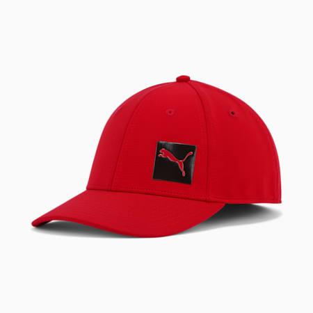 Gorra de malla elásticaPUMA Decimal2.0, Rojo, pequeño