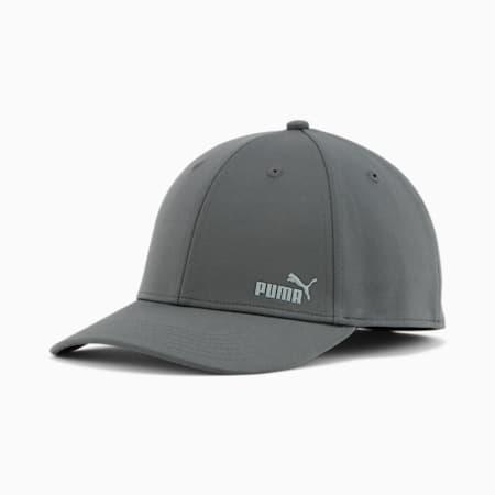 PUMA Force 2.0 Stretch Fit Cap, Dark Grey, small