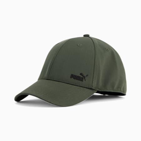 PUMA Force 2.0 Stretch Fit Cap, Olive, small