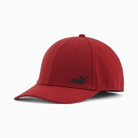Gorra de malla elásticaPUMA Force2.0, Borgoña/Negro, pequeño