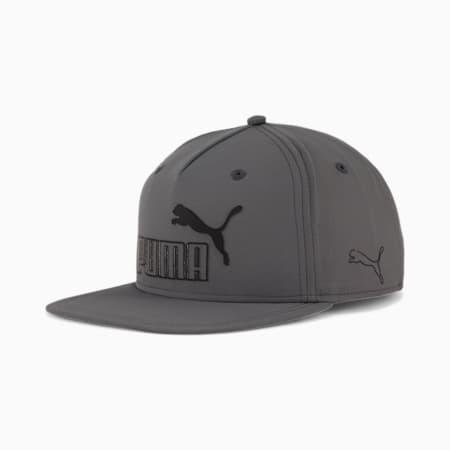 PUMA Fortune Snapback Cap, Dark Grey, small