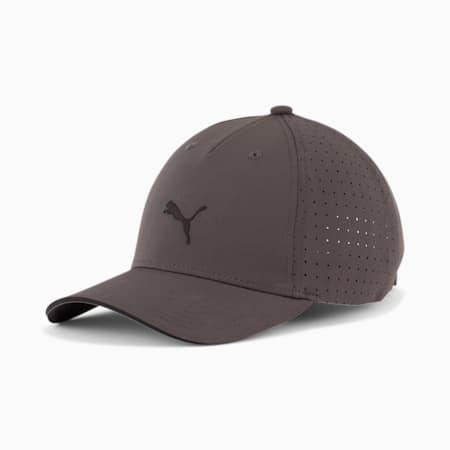 PUMA Mesh 3.0 Runner Performance Cap, Grey/Black, small