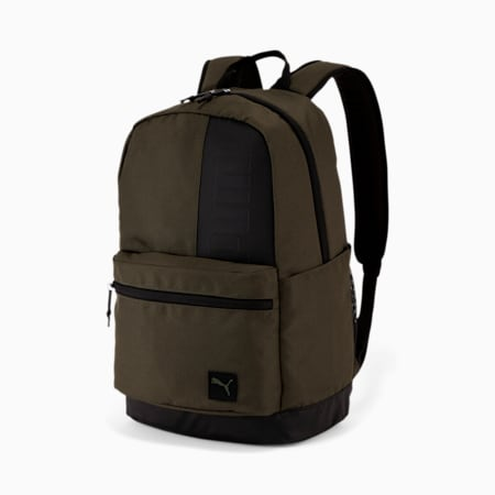 PUMA Multitude Backpack, Dark Green, small