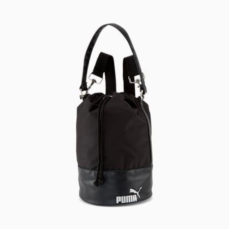 Bolso bucket convertible PUMA, Negro, pequeño
