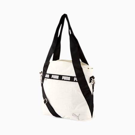 PUMA Sonora Tote Bag, Grey/Black, small