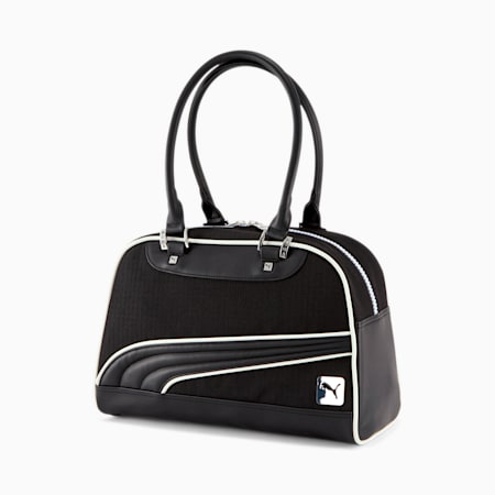 PUMA Women's Grip Bag, BLACK / WHITE, small