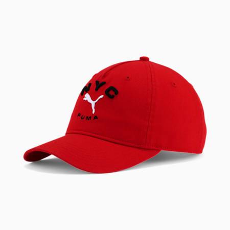 NYC Benton Adjustable Cap, RED, small