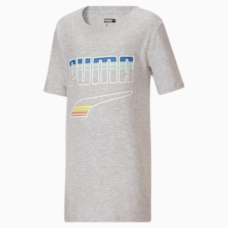 T-shirt à graphique Rebel Pack, enfant, GRIS BRUYÈREPÂLE, petit