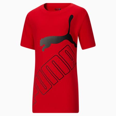 T-shirt graphique Amplified, jeune garçon, ROUGE RISQUE ÉLEVÉ, petit