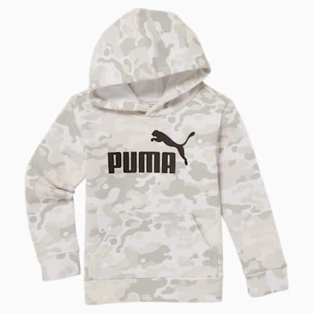 Kangourou en molleton camouflage, jeune enfant, BLANC PUMA, petit