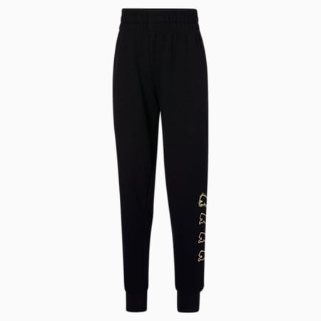 Pantalones Rebel JR, PUMA BLACK, pequeño